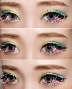 EOS New Adult non-prescription cosmetic colour contact lenses (circle lenses) transform your eyes into bright, vivid pools of pure color. Choose EyeCandy's contact lenses for the simplest one-step makeover! FREE Shipping Worldwide! #circlelens #colouredcontacts #contactlens #kawaii #ulzzang #gyaru #model #girl #eyes #makeup #pretty