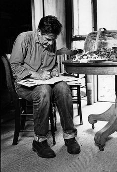 "John Cage: ""There is poetry as soon as we realize that we possess nothing."""