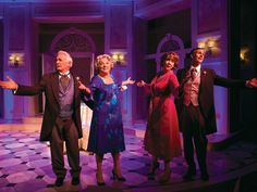 """Richard Kline (left to right), Tyne Daly, Harriet Harris and Howard McGillin in the 2011 George Street Playhouse original production of """"It Shoulda Been You,"""" directed by David Hyde Pierce. The show moved to Broadway in 2015. (Photo: COURTESY OF T. CHARLES ERICKSON)"""