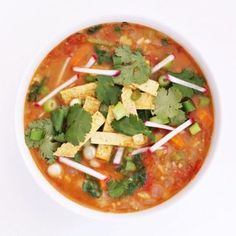This hearty soup is incredibly flavorful and satisfying, but also healthy.
