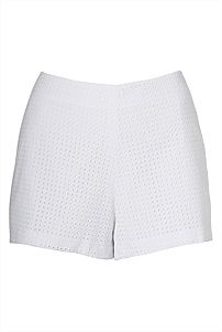 Our Broderie Cut Work Shorts are the perfect summer staple. A tailored cut, work the this season's all-white look with other tonal pieces. Work Shorts, Cut Work, All White, White Shorts, Short Dresses, My Style, Christmas, Clothes, Fashion