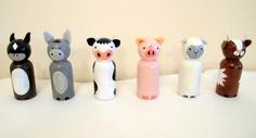 Check out this item in my Etsy shop https://www.etsy.com/uk/listing/402312347/farm-animals-peg-doll-set