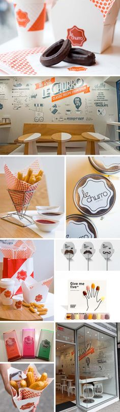Retail Shop design, Boamistura, Fun churro shop in nyc, Chocolat Factory… Graphic Design Branding, Corporate Design, Identity Design, Retail Design, Brand Identity, Food Branding, Restaurant Branding, Restaurant Design, Cafe Design
