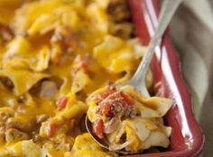 Paula Deen's Cheesebuger Casserole