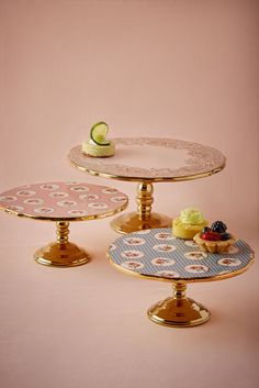 English Tea Cake Stands from BHLDN