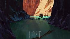Lost 2, Mike Redman on ArtStation at https://www.artstation.com/artwork/2W1Pg