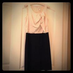 Ann Taylor Loft dress beige and black And Taylor loft dress beige and black, never worn LOFT Dresses Mini
