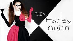 DIY Harley Quinn Costume - The tutorial for the skirt will be extremely helpful sometimes soon.