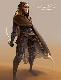 Dune Concept Art - Fremen