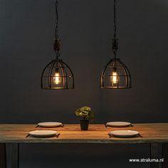 Industrial Scandinavian, Kitchen Lighting, Ceiling Lights, Interior, House, Home Decor, Houses, Indoor, Haus