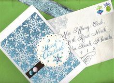 custom calligraphy card