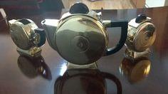 art deco christofle fjedringstad tea set #Christofle