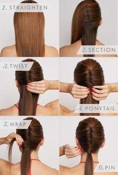 Découvrez nos coiffures adaptées au sport. Focus : les cheveux longs Trouvé sur twitter.com