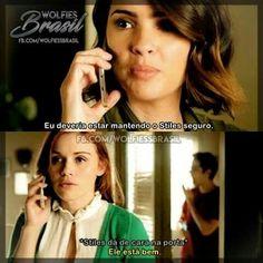 Lydia é feio mentir! Teen Wolf Memes, Teen Wolf Funny, Teen Wolf Stiles, Teen Wolf Cast, Dylan O'brien, Cenas Teen Wolf, Meninos Teen Wolf, Malia Tate, Wolf Love