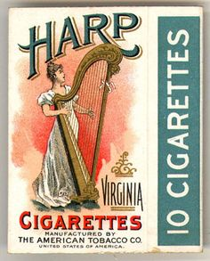 Harp. From Duke Digital Collections. Collection: Emergence of Advertising in America