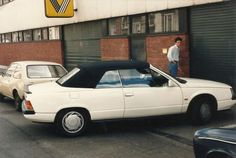 1985 Renault 25 V6 Turbo Cabriolet Prototype
