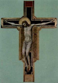 Crucifixion Rimini. c.1309 - Giotto