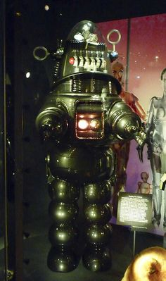 Roby from the Forbidden Planet - EMP Museum - Seattle, WA