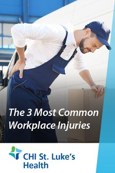 While you may not associate work with danger, a worker gets injured on the job every seven seconds. Fortunately, most common workplace injuries are preventable. Workplace Accident, Emergency Care, Most Common, Healthy Tips, Health And Wellness, Health Fitness