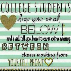 Let me show you how to make money!!  Chelsea Nahrwold Text/Call-615-587-4198 Email-skinnywrapgirl33@gmail.com Website-skinnywrapgirl33.myitworks.com Facebook-www.facebook.com/skinnywrapgirl33 Kik-ItWorksChels