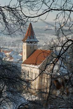 The Evangelical Church of Cisnadioara, Sibiu, Romania