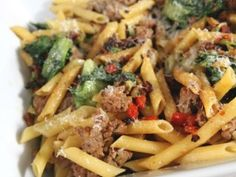 Penne with Sausage and Escarole