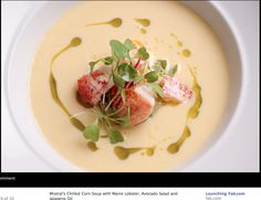 Lobster Corn Soup