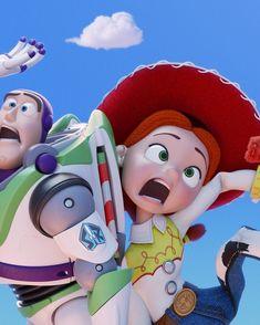 Disney+: New 'Toy Story' Shorts Coming from Pixar Disney Pixar, Disney Fan Art, Disney And Dreamworks, Disney Cartoons, Disney Characters, Disney Posters, Walt Disney Animation Studios, Jessie And Buzz, Jessie Toy Story