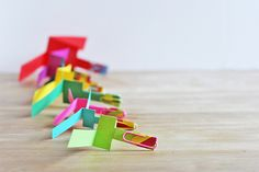Paper helicopters. Used to make these with my middle schoolers. PH- hero 2 by www.babbledabbledo.com, via Flickr