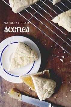 Vanilla Cream Scones