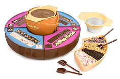 Create wonderfully delicious homemade candy bars with the Nostalgia Electrics Chocolate Candy Bar Maker. This super fun candy bar maker features a heated base for melting chocolate and 4 silicone molds that make up to 8 candy bars. Classic Candy, Custom Chocolate, Chocolate Fountains, Best Candy, Homemade Candies, Hot Fudge, Candy Melts, Melting Chocolate, Chocolate Candies
