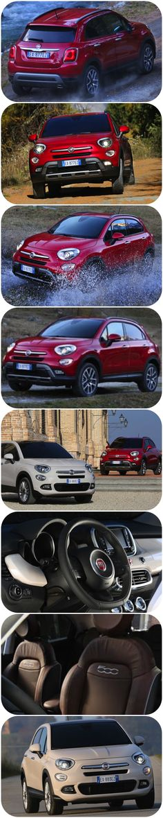 First Review - the Fiat 500X Lifestyle Crossover Makes a Splash. Another descendant of the iconic Fiat 500 with all the visual clues from the original. This time 'Pumped' to create a new appealing stylish, Italian designed and built crossover. There really now is a Fiat 500 for everyone. A car of substance, now available in all shapes, sizes and configurations. Iconic styling and a reasonably capable softroader. #fiat500X #fiat #suv #crossover