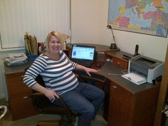 Read how Scottish author Susan Buchanan had to adjust her writing space during #pregnancy