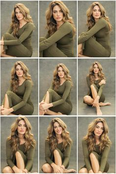 Women posing and style guide for portraits.