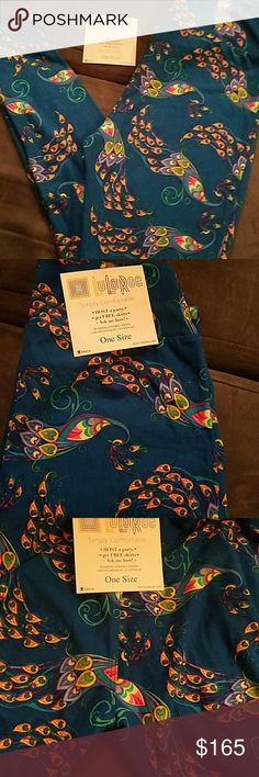 Lularoe leggings OS Very rare and hard to find on yes I am asking a firm offer on these it'll be by very little if I go down even at all because I guarantee you're not going to find these like that I also have a black pair I am not a consultant so I had to bid and trade and it's been crazy I do not want to let these go but for the right price and to the right buyer I will please look closely as people have tried to complain and say there's is issues with some sales on here I've noticed I…