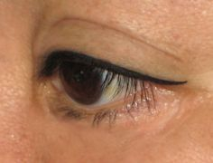 Cosmetic Ink Permanent Makeup - San Diego, CA, United States. Upper eyeliner with tail