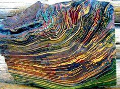 Rough of Kaleidoscope Jasper from Oregon Amazing Geologist Website