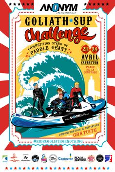 Compétition Goliath Sup Challenge  à Capbreton