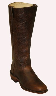 Abilene Boots Gunfighter Boot (WIDE) | Wild West Mercantile Tall Leather Boots, Tall Boots, High Boots, Cowboy Gear, Cowboy Boots, Abilene Boots, Western Costumes, 18th Century Clothing, Leather Leggings