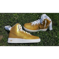 quality design 6939c 0c258 Image of Nike Air Force 1 High (Gold) New Nike Air Force, Air