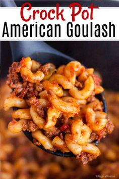 American Goulash Crock Pot Recipes are so easy to prepare. Try this easy Crockpot Goulash Recipe for a meal full of hearty ground beef, pasta and more. Recipes with ground beef American Goulash Crock Pot Recipes - Easy Crockpot Goulash Recipe Crockpot Goulash Recipe, Crockpot Dishes, Crock Pot Cooking, Crockpot Recipes Pasta, Sausage Recipes, Crockpot Meals With Hamburger, Cheap Crock Pot Recipes, Goulash Slow Cooker, Ground Beef Goulash