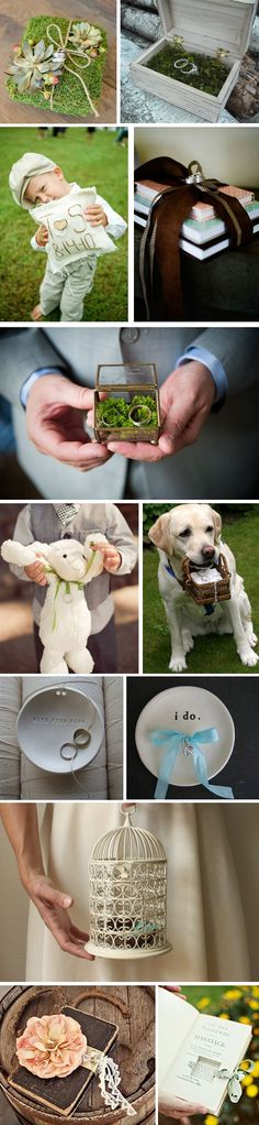 ring bearer pillow ideas