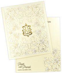 Wedding Cards, Sarees, Salwar Kameez & Suits, Lehenga at Indian Wedding Store Scroll Wedding Invitations, Scroll Invitation, Indian Wedding Invitation Cards, Hindu Wedding Cards, Ganesha, Custom Design, Prints, Ganesh
