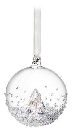 Swarovski 2013 Christmas Ball.  Our Dad got this for our Mom for Christmas last year.  She loves it so much she keeps it on a stand in our entryway.