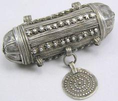 Yemeni Jewish amulet tabeez taweez hirz