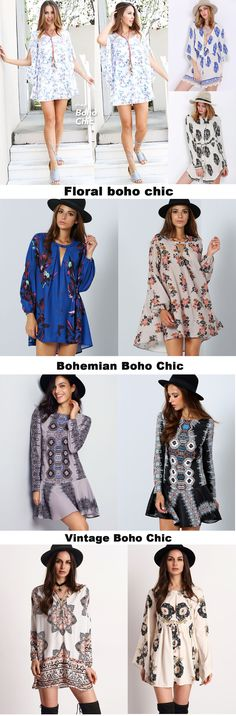 Most polular trend for Spring & Summer,This season can't let Boho Chic Dress go away. Shop the latest Boho looks with a modern updae at MakeMeChic.com