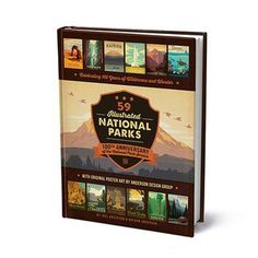 Inspired by USA's National Parks, Anderson Design Group created a beautiful book, as well as numerous posters.
