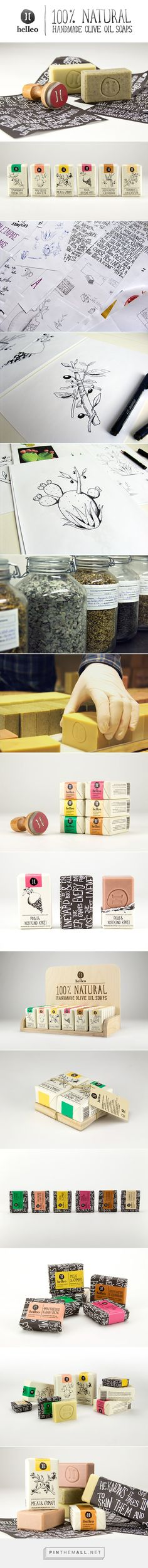 Helleo / Natural soaps designed by til noon - created via http://pinthemall.net