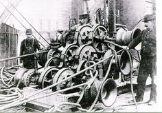 1893 Chicago World's Fair steam engine to power the Ferris Wheel