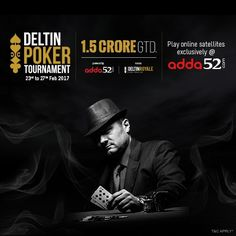 Deltin Poker Tournament Powered by #Adda52 is Back with a INR 1.5 Crore Prize Pool